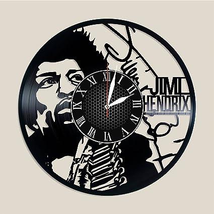 Amazon.com: Olha Art Design Jimi Hendrix vinyl clock Jimi Hendrix ...