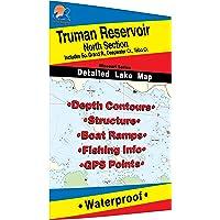 Truman Reservoir-North (North of HWY 7) Fishing Map