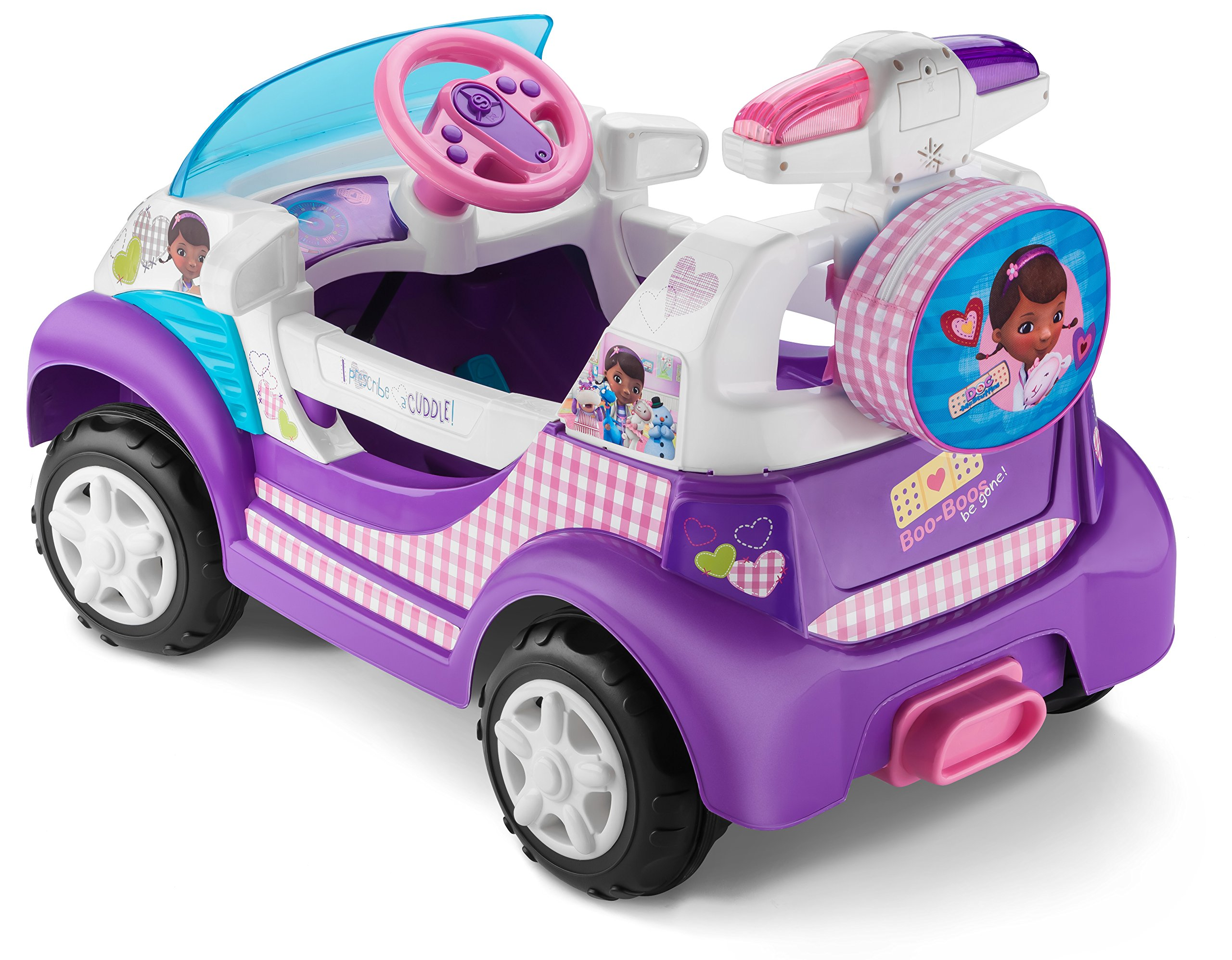 Kid Trax Doc McStuffins 6V Ambulance Ride On by Kid Trax (Image #3)