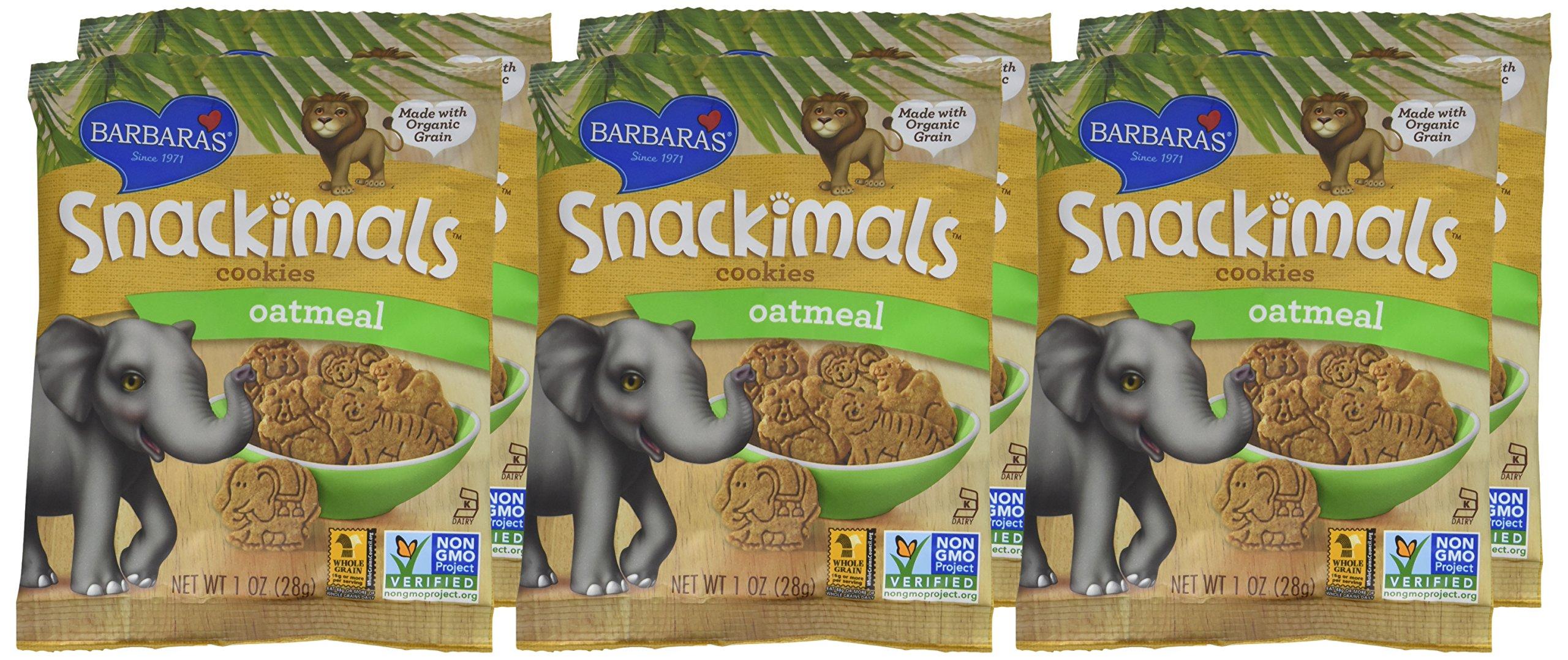 Barbara's Bakery Organic Oatmeal Snackimals - 1 oz - 6 pk by Barbara's Bakery (Image #2)