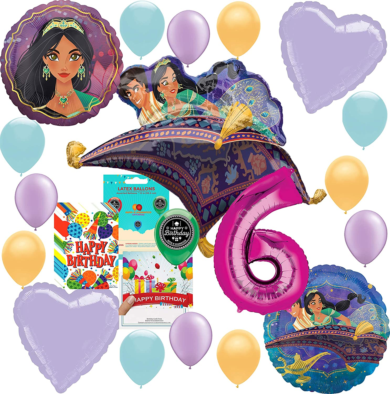 Amazon.com: Aladdin Princesa Jasmine Party Supplies Globo de ...