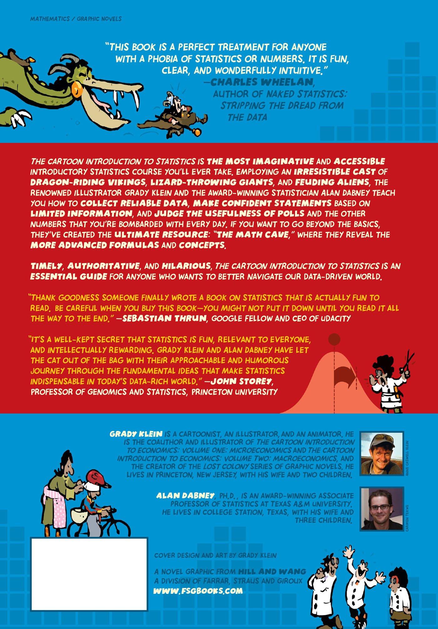 The Cartoon Introduction To Statistics: Grady Klein, Alan Dabney:  9780809033591: Amazon: Books