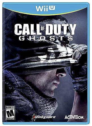 Amazon Com Call Of Duty Ghosts Nintendo Wii U Activision
