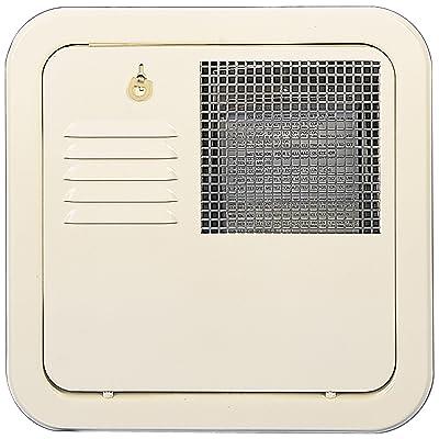 Suburban 6259ACW Flush Mount 10 Gallon Water Heater Door - Colonial White: Automotive