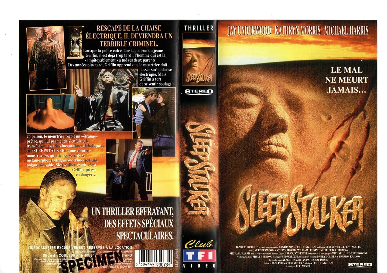 Sleepstalker [VHS]: Meyer Turi, Underwood Jay: Amazon.fr: Vidéo on