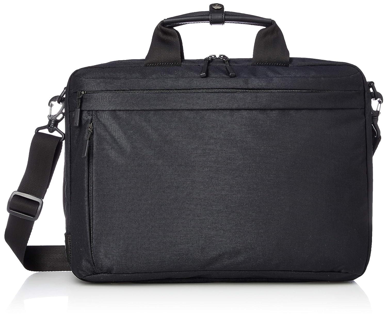 [エースジーン] 3WAYバッグ ホバーライトクラシック 62050 軽量 A4ファイル対応 15インチPC対応 2気室 チェストベルト付 セットアップ対応 B07NF7YWL4 ブラック