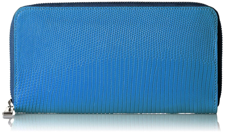 [ファーロ] FARO 長財布 SANTELLO LIZARD B01E9SOKEA ブルー ブルー