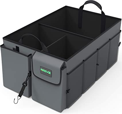 Ruedas n bits Plegable Boot organizador 3 grandes compartimentos POCKET CAR