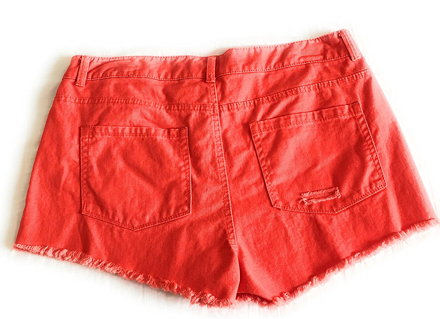 5fb3095812 Copper Key Juniors Denims Cutout Shorts-Red-size 7 at Amazon Women's  Clothing store: