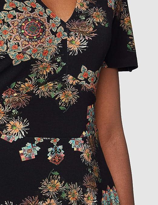 Desigual Vest/_gogo Robe d/écontract/ée Femme