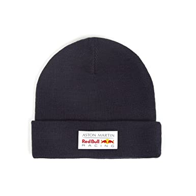 2018 Aston Martin Red Bull Racing F1 Classic Beanie Knitted Hat Navy Adults  Size  Amazon.co.uk  Clothing 9ada4691914e