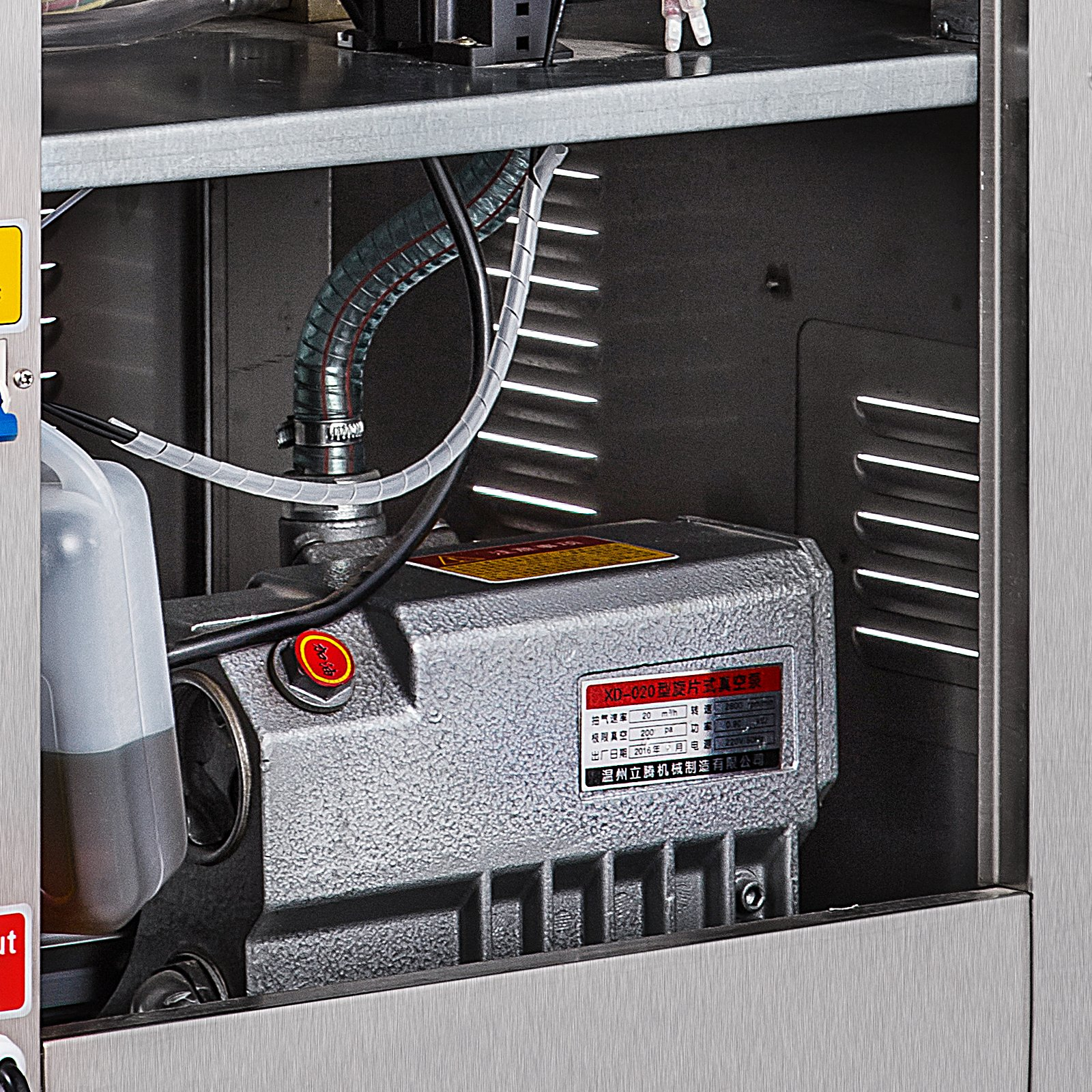 Happybuy DZ-400/2E Chamber Vacuum Sealer 1000W Vacuum Sealer Machine Automatic Vacuum Packing Sealing Sealer Machine for Home or Commercial Use (DZ-400/2E) by Happybuy (Image #9)