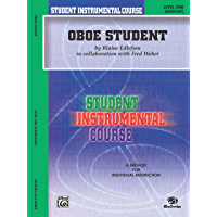 Student Instrumental Course: Oboe Student, Level 1 book cover