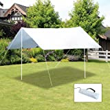 Outsunny Sunshade UV Protection Waterproof Awning Canopy Outdoor Camping Tent Tarp Hiking Shelter