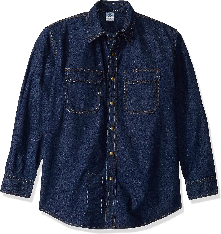 Revco Black STALLION FR Flame Resistant Denim Work Shirt - FS8 - Small, Large, X-Large (Medium)