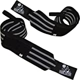 "Wrist Wraps Super Heavy Duty (1 Pair/2 Wraps) 24"" Support for Weight Lifting 