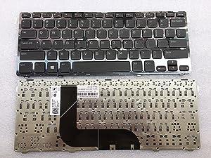 keyboard go go go Keyboard for Dell Inspiron 14Z-5423 13Z-5323 / Vostro 3360 V3360 Series US Layout MP-11K53US6442W 904UV07H0124806985V300 Black Frames 14Z-5423