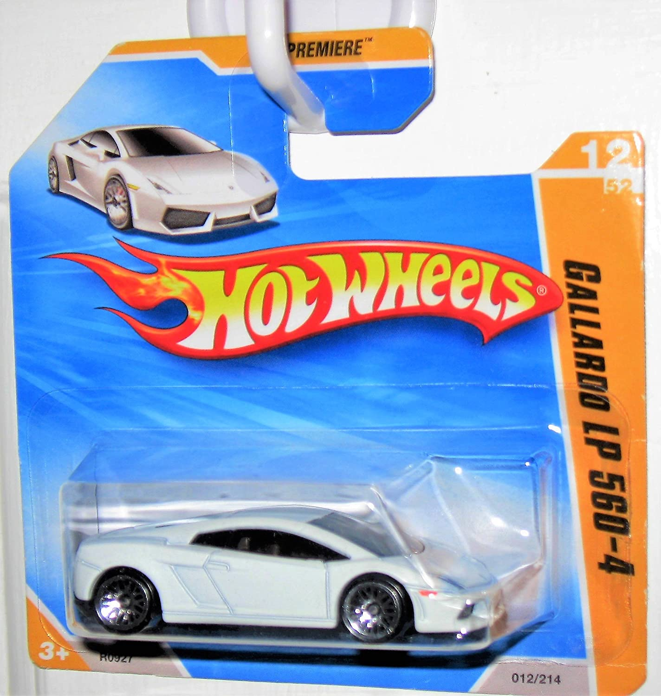 Amazon Com 2010 Hot Wheels Short Card Hw Premiere Lamborghini