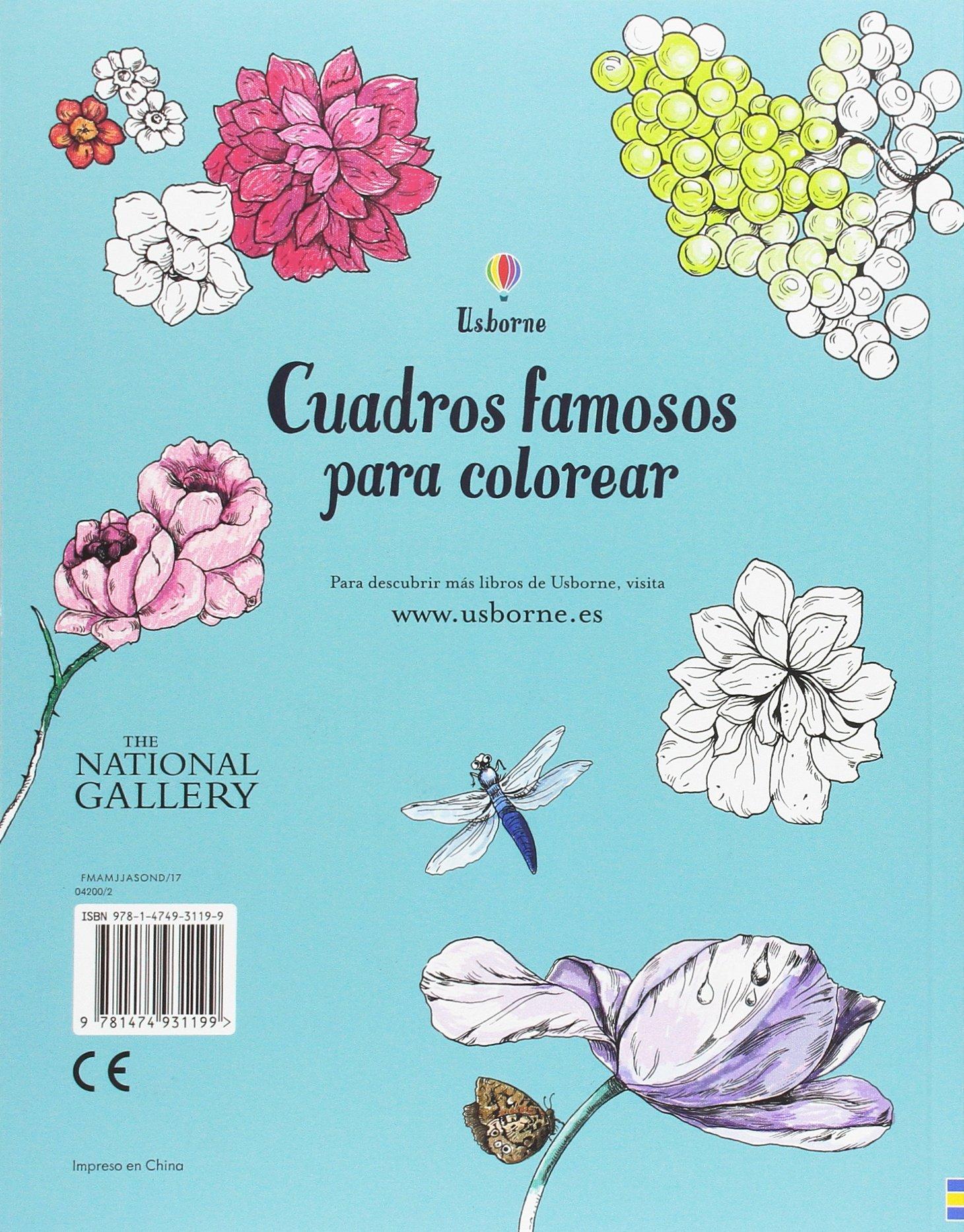 Cuadros famosos para colorear: Amazon.es: Susan Meredith: Libros