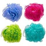 Amazon Price History for:The Miracle Shop 4-Pack Mesh Pouf Bath Sponge Eco-Friendly Quality Mesh Shower Sponge