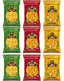Inka Plantain Chips Variety Pack Sampler, Large Family Size Bags, 3.25 Ounce (9 Count)