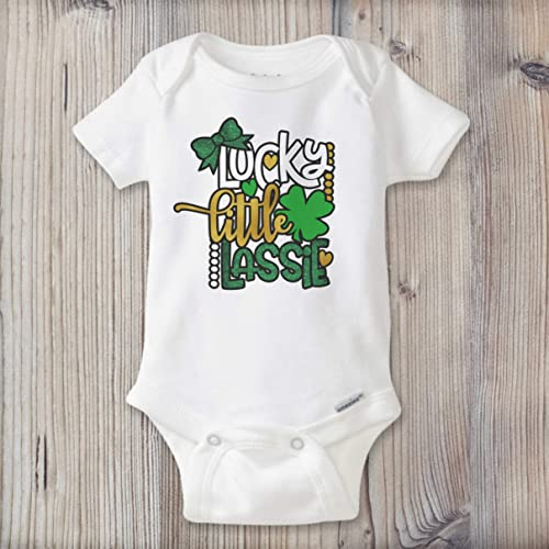 453c83b4e Image Unavailable. Image not available for. Color: St. Patrick's Day Baby  Girl Onesie® ...