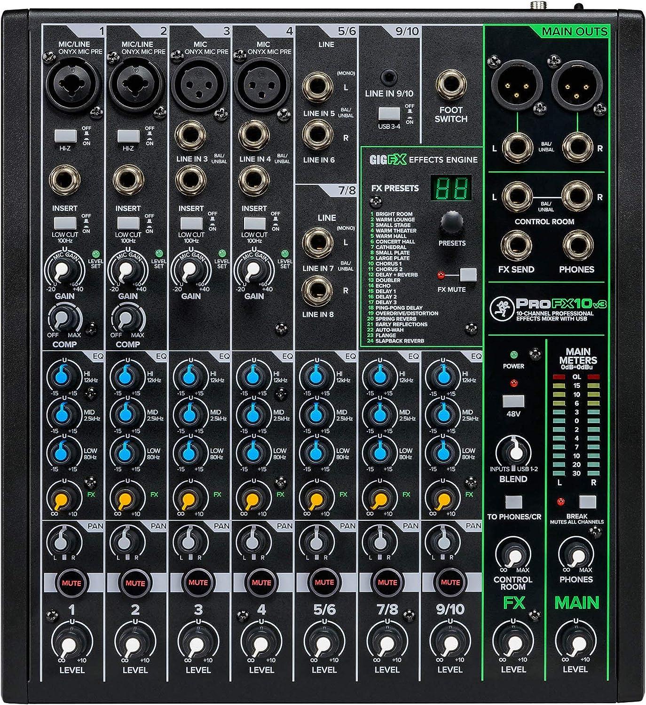 Mackie ProFX7v7 Table de mixage: Amazon.fr: Instruments de musique