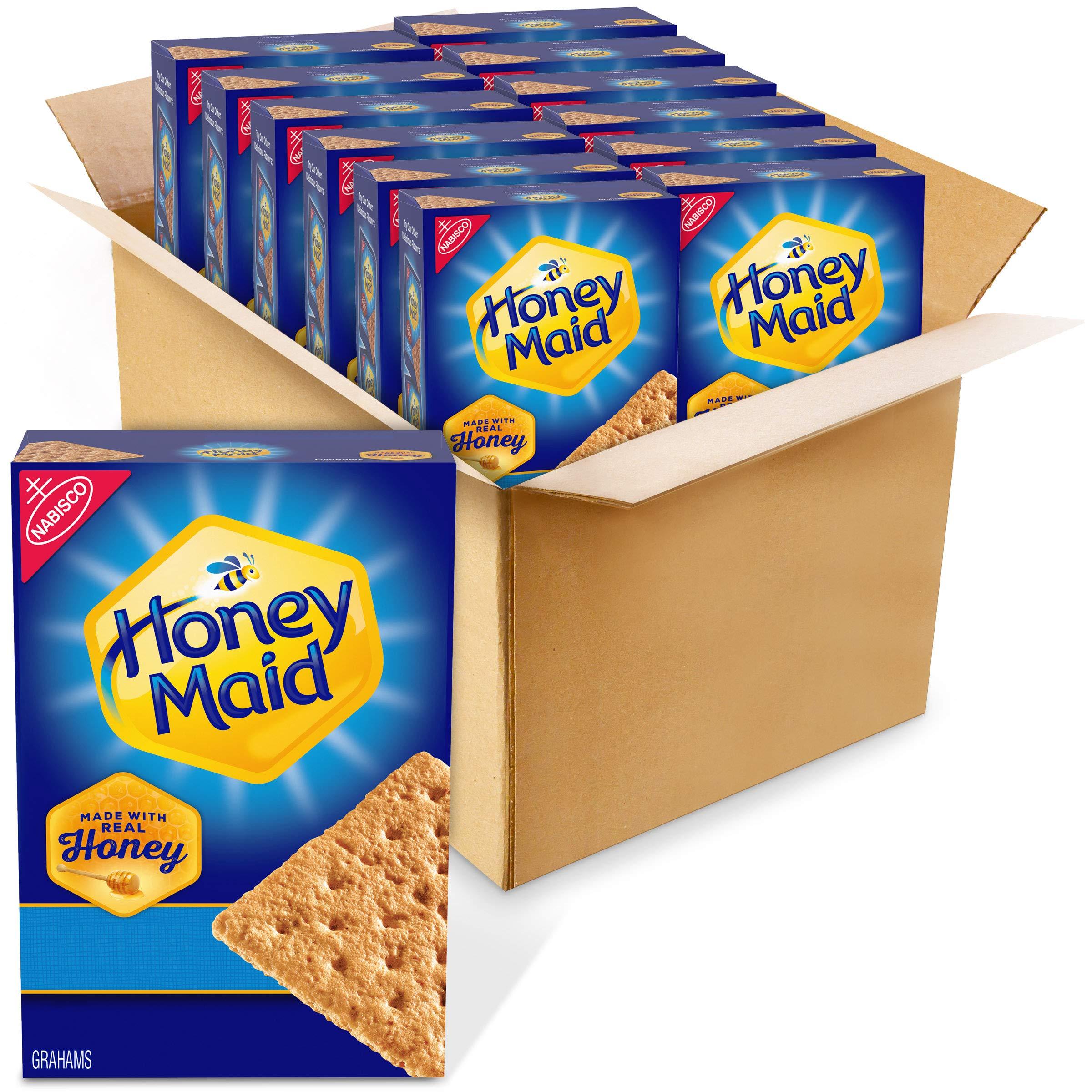 Honey Maid Graham Crackers, Honey, 172.8 Oz