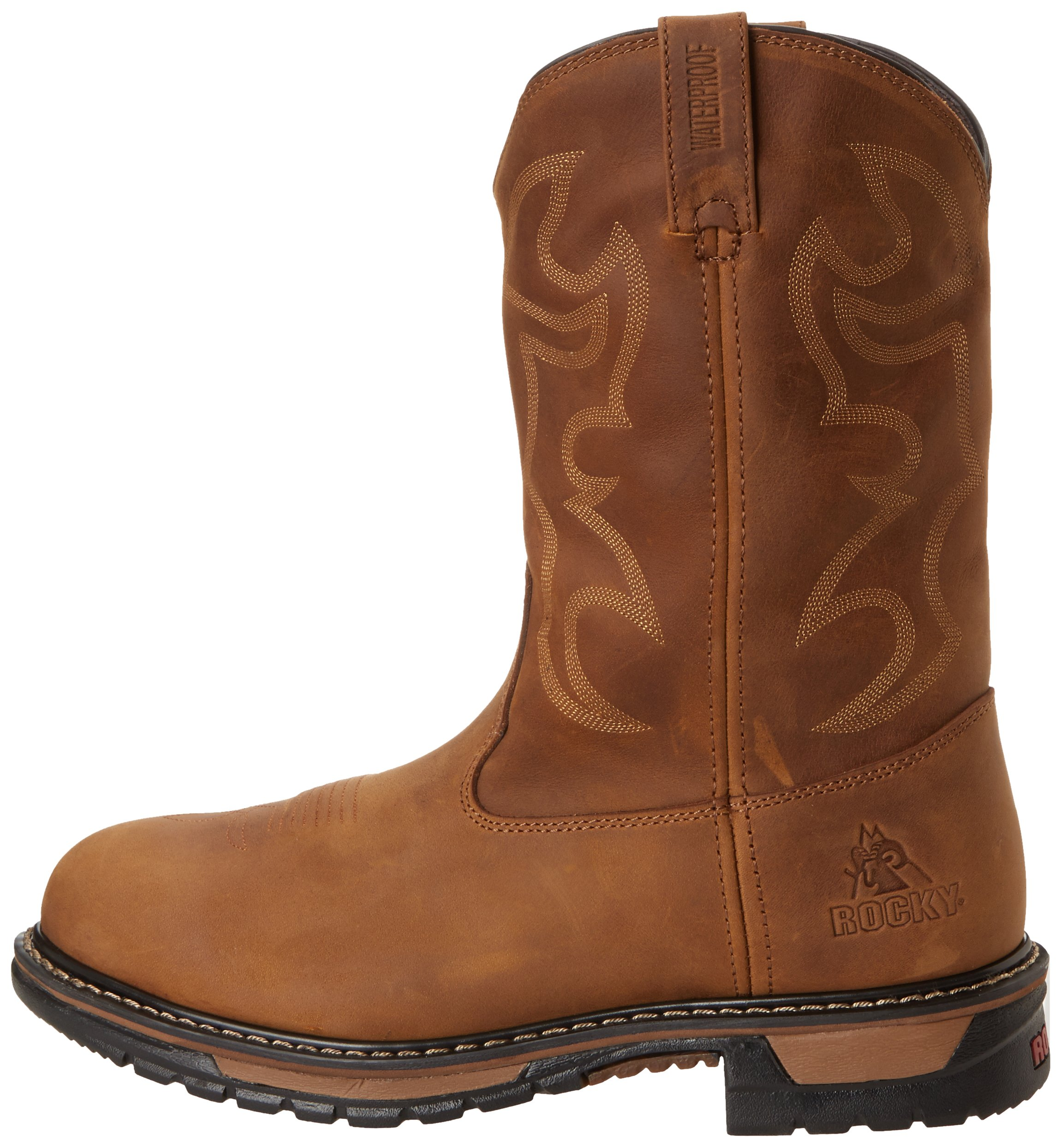 Rocky Men's FQ0002733 Boot, aztec crazy horse, 11 M US by Rocky (Image #5)