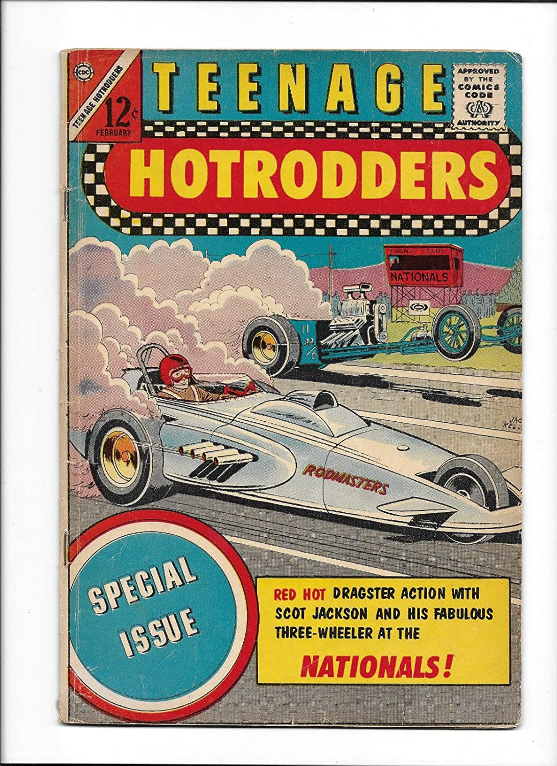 Amazon.com: TEENAGE HOTRODDERS #6 [1964 GD] SPECIAL ISSUE \'DRAGSTER ...