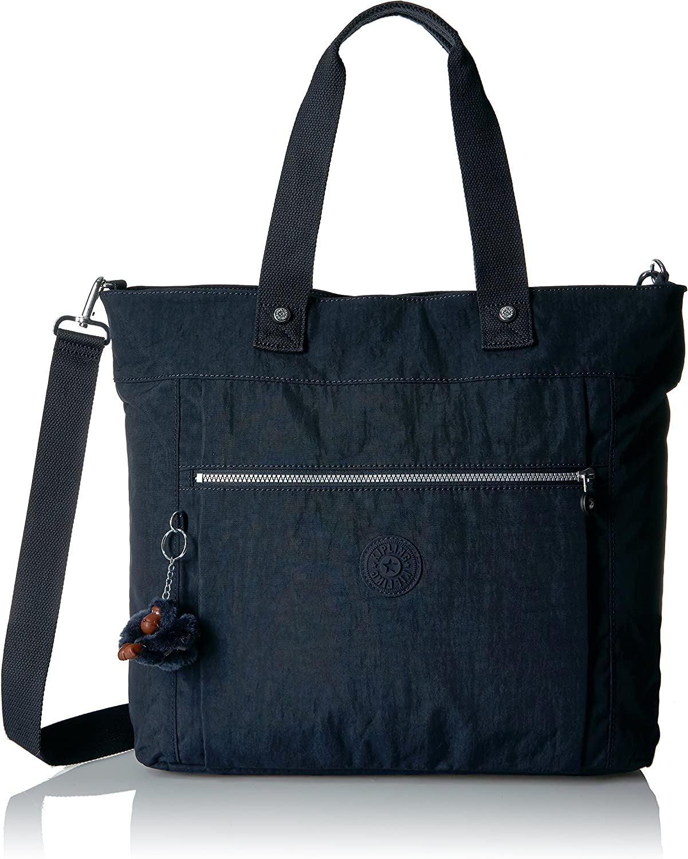 Kipling Women's Lizzie Solid Laptop Tote Bag, True Blue