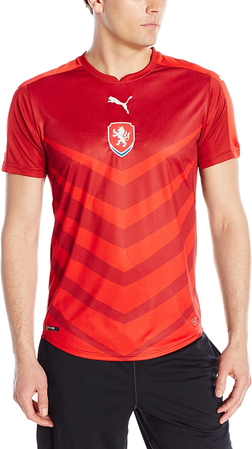 PUMA Men's In stock Uruguay We OFFer at cheap prices Shirt Replica Away