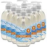 Seventh Generation Purely Clean Hand Wash Soap, Fresh Lemon and Tea Tree, 12 Fl Oz, Pack of 8