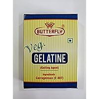 Butterfly Veg Gelatine (Carrageenan) - 25Gm