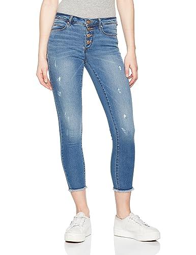 ONLY Onlcarmen Reg Sk But An Dnm Jeans Bj8758, Mujer
