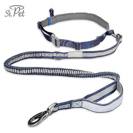 Jogging cuerda Perros | reflectante, con cinta elástica para Flexi ...