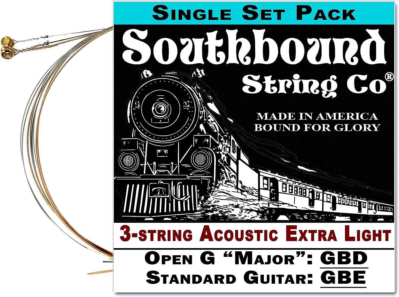Acústica ultraligero 3-string Cigar Box guitarra cuerdas – abierto ...