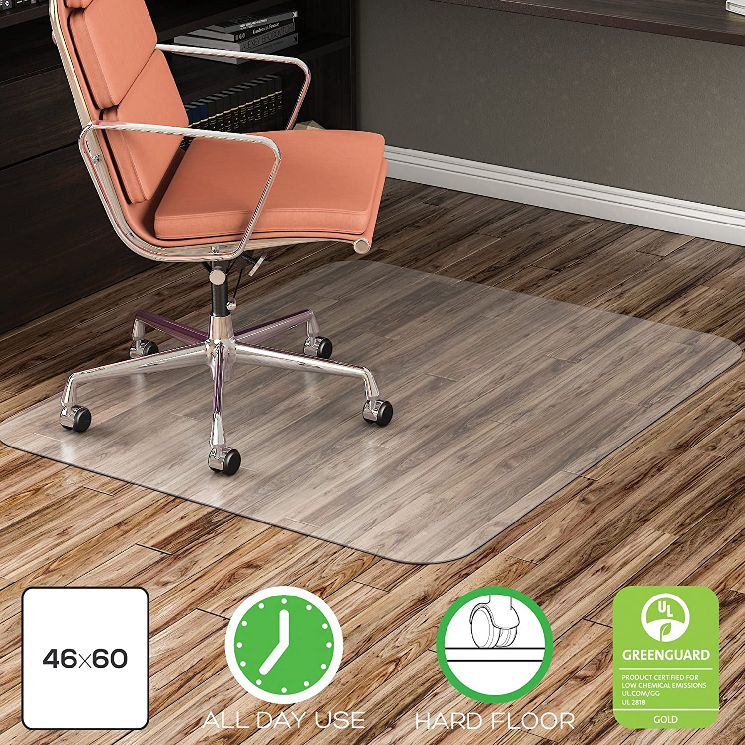 modern mat mats perfect full wood carpet on inspiration with home lip floors transparent size chair protector floor office carpeted for of green best circular desk etm