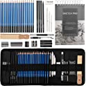 40-Pieces Mooker Drawing Pencils Sketch Art Set