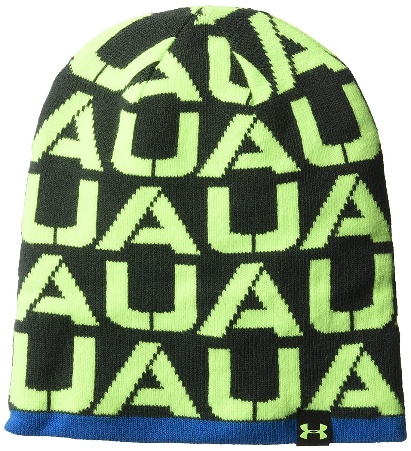 6e4b8f3b6d1 Under Armour Boys  B4-In-1 Beanie Quirky Lime Quirky Lime One