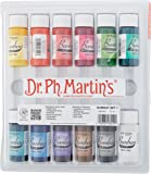 Dr. Ph. Martin's Bombay India Ink Bottles, 0.5 oz, Set of 12 (Set 1)