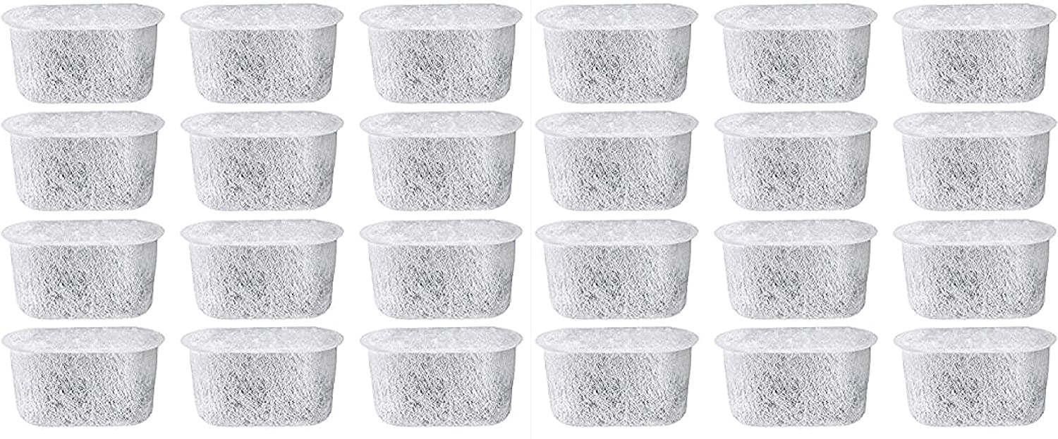 Everyday 24-Pack Replacement Charcoal Water Filters for Cuisinart Coffee Machines