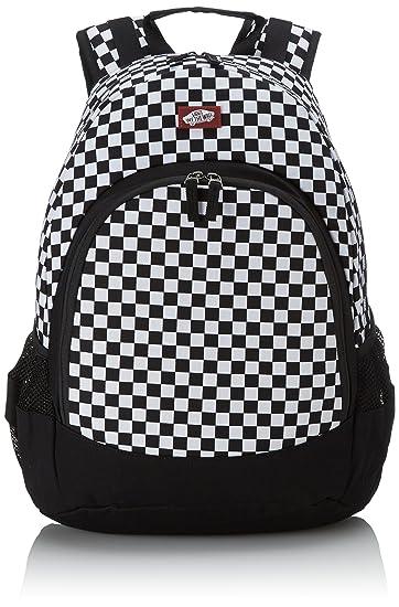 70c5656751 Amazon.com  Vans Men s Van Doren Backpack - Black White  Sports ...
