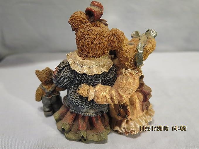 Boyds Louella and Hedda The Secret Bearstone FIgurine