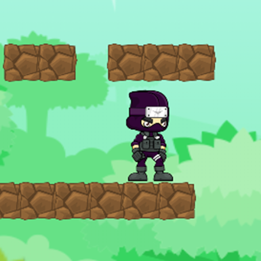 Double Platform Top (NINJA SIDE 2D : Platform Game)