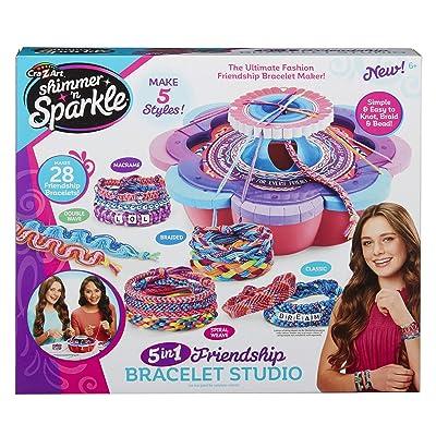 Cra-Z-Art Shimmer & Sparkle Ultimate Friendship Bracelet Maker, Multiple: Toys & Games