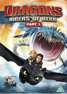 How to train your dragon dvd amazon jay baruchel gerard dragons riders of berk part 1 dvd ccuart Images
