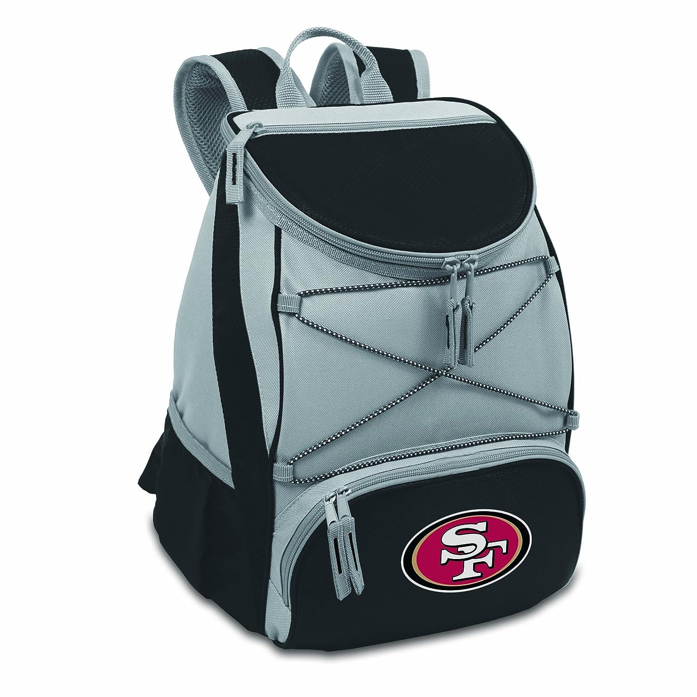 NFL San Francisco 49ers PTX Insulated Backpack Cooler Black
