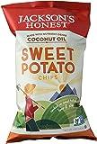Jackson's Honest Potato Chips (Non-GMO Sweet Potato, Bags), 5 oz.