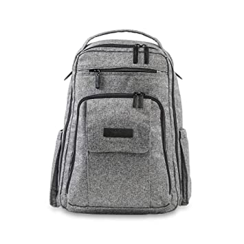 9dfdacca7ee9 Amazon.com   JuJuBe Be Right Back Multi-Funtional Structured Backpack Diaper  Bag Onyx Collection
